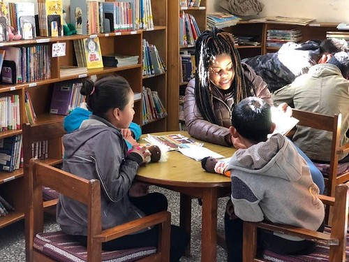 RyKai reading to Tibetan Children in India during her Study Abroad Experience. From RyKai Wright: #CommunityCollegeBecause ... it will help enhance your academic goals, leadership, and networking skills