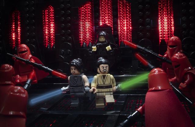 Imperial Royal Guards VS Remnant Jedi