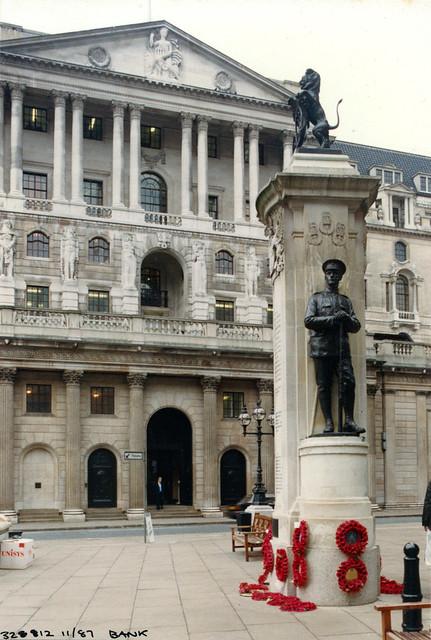 Bank of England, Bank, CIty, 1987 TQ3281-047