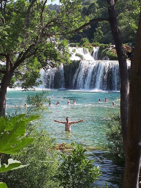 Swimming for the last time this year in the Krka waterfalls, 2021 it will be forbidden.