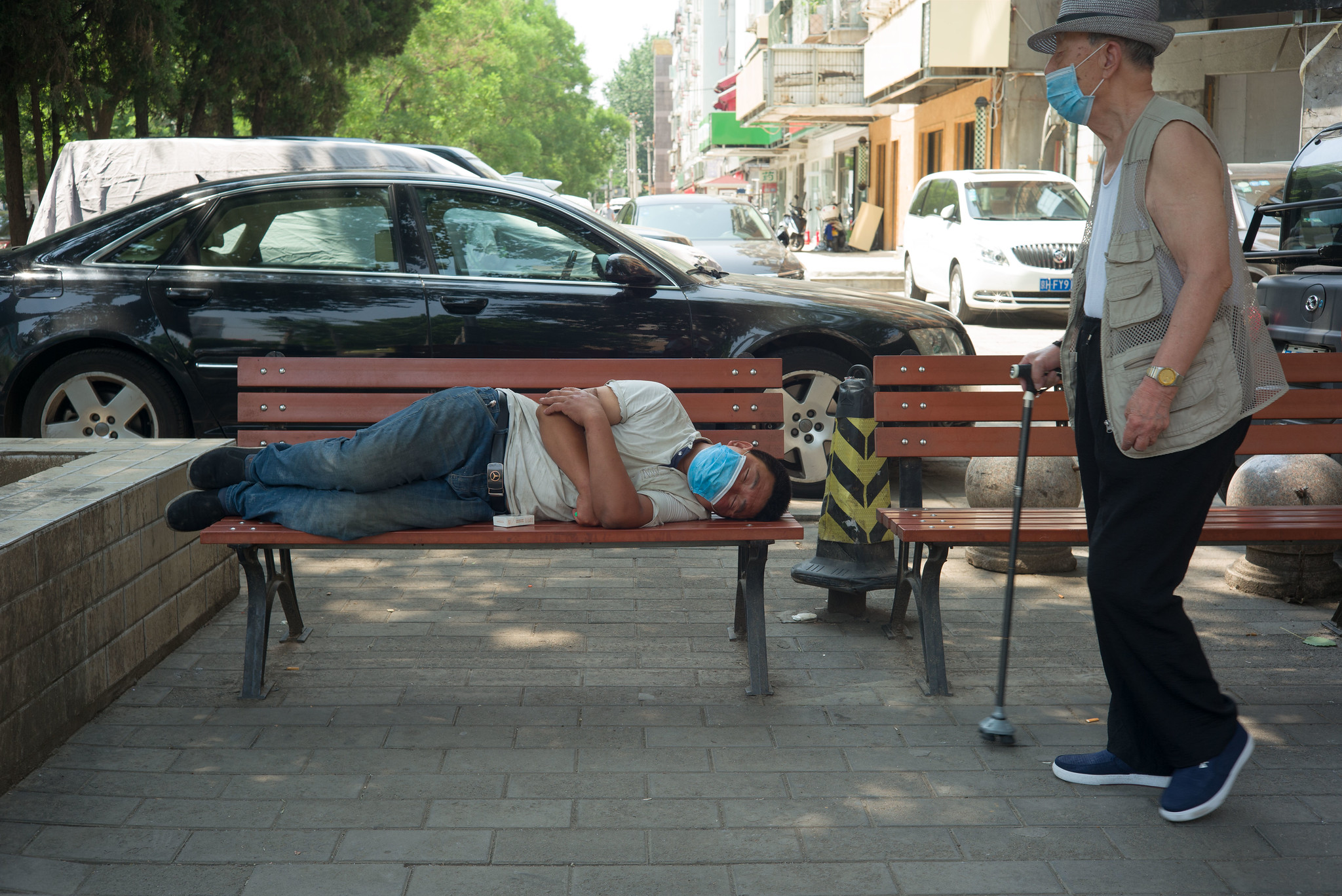 parkbank-schlaf