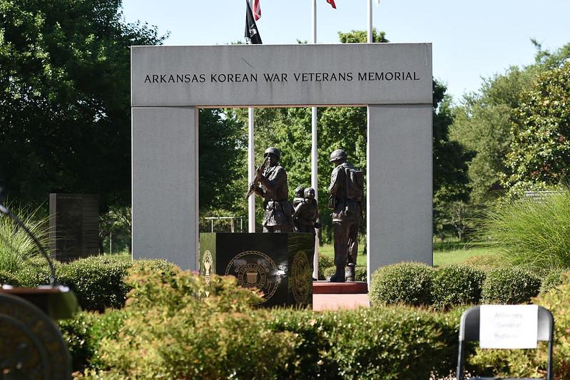 Korean War Wreath Laying Ceremony Jun. 2020