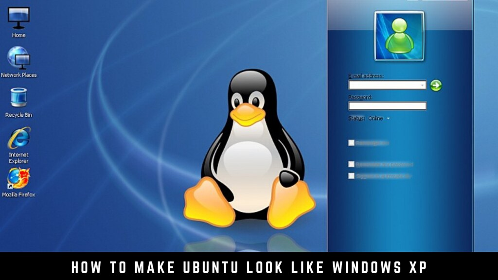 How to make Ubuntu look like Windows XP