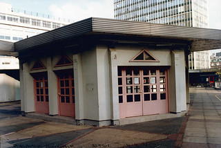 St Alphage Highwalk,, London Wall, City, 1992 TQ3281-103