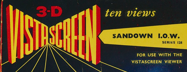 VistaScreen Slides of Sandown, Isle of Wight, 1950s