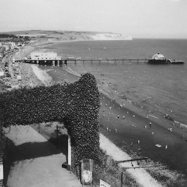Cliff Walk, Sandown, Isle of Wight, 1950s
