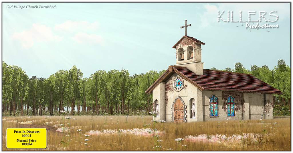 """""""Killer's"""" Old Village Church @ Uber from 25th May Till 22nd July"""