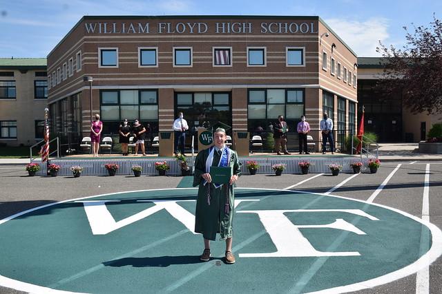 William Floyd High School Curbside Graduation Day 4 - June 25, 2020