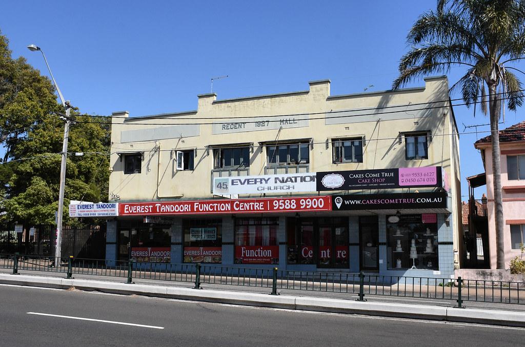 Shops, Rockdale, Sydney, NSW.