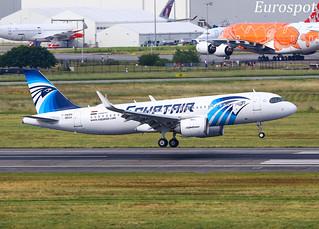 F-WWBN Airbus A320 Neo Egyptair