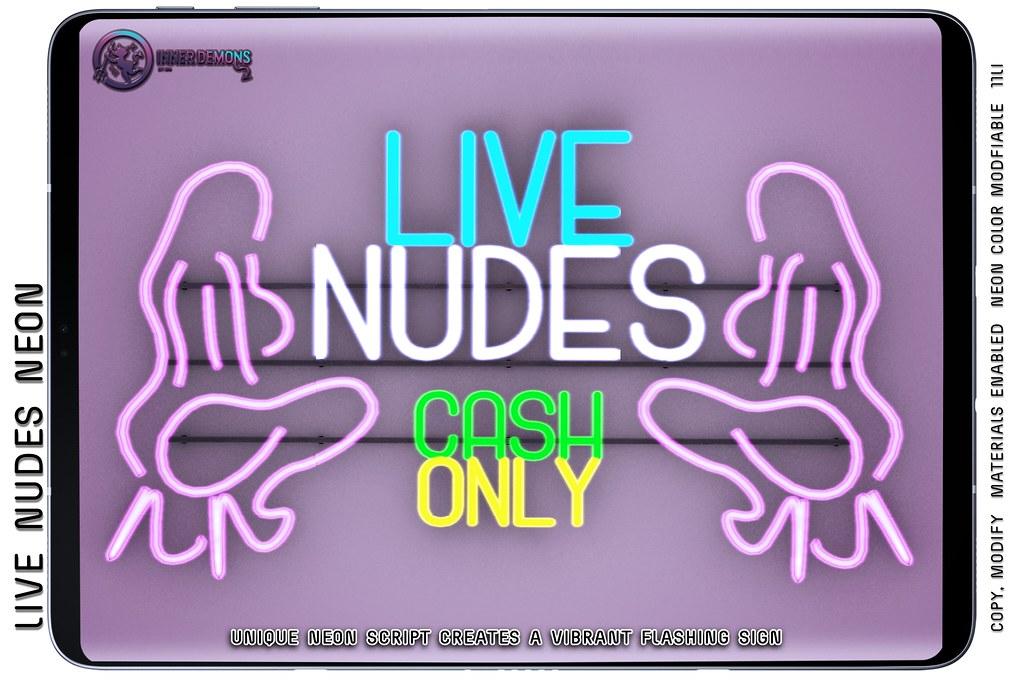 {ID} Live Nudes Neon @ Forbidden Fridays