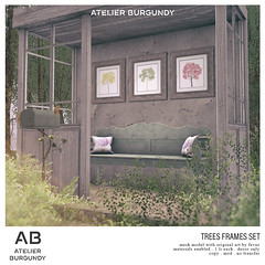 Atelier Burgundy . Trees Set