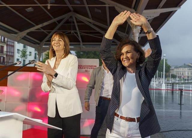 Inicio de campaña con Carmen Calvo #12J