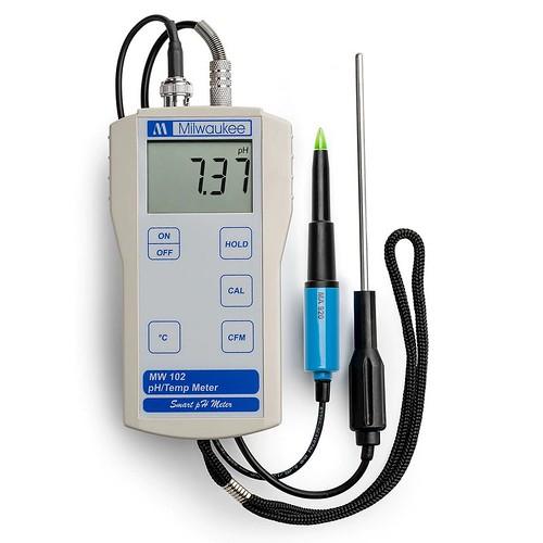 MW102FOOD__may đo pH nhiệt độ