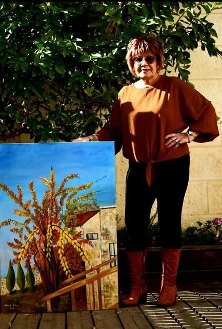 פרידה פירו Frida piro יוצרת ציירת אמנית ישראלית רב תחומית פיגורטיבית פלסטית ויזואלית חזותית ריאליסטי