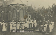 St Stephens Church of England Parish Hall. Laying the foundation stone, 1924.