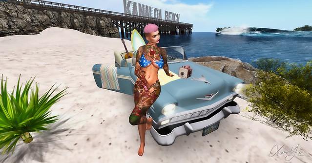 Hanging Out at Kanaloa Beach