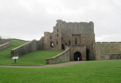 Tynemouth  Castle entrance,Tyne and Wear,