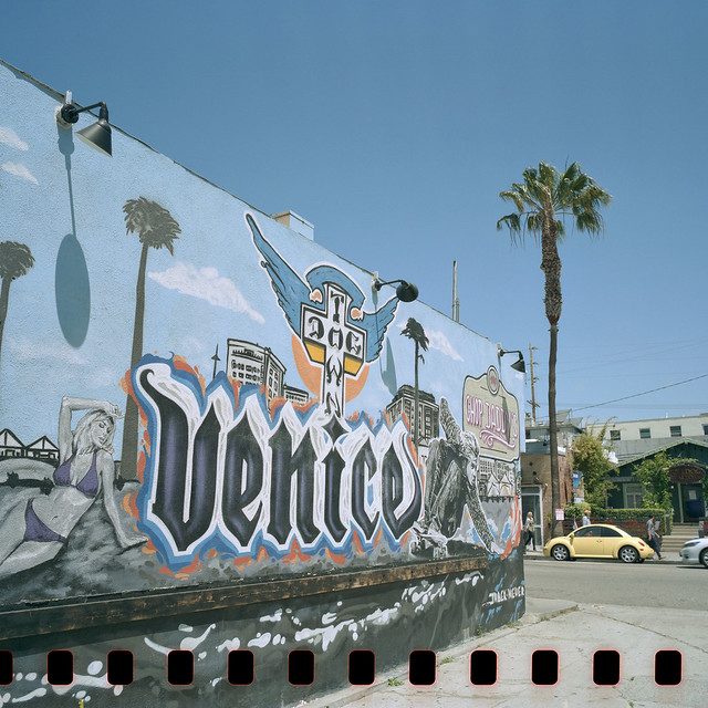 dog town mural. venice beach, ca. 2016.