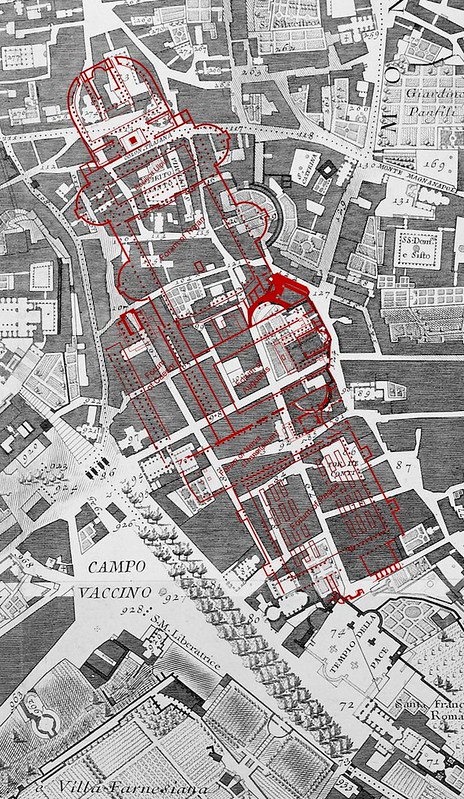 ROMA ARCHEOLOGICA & RESTAURO ARCHITETTURA 2020. Roma Capitale, Urban Heritage and the 'Area Fori  / Via dell' Impero, Via dei Fori Imperiali' & Metro C', in JSAH [in PDF]: S. Kostof (1973), (1976) & A. Russell (2014). Foto: glucaprimi, Instagram (6/2020).