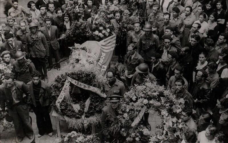 Pogrzeb Chaskiela Honigsteina