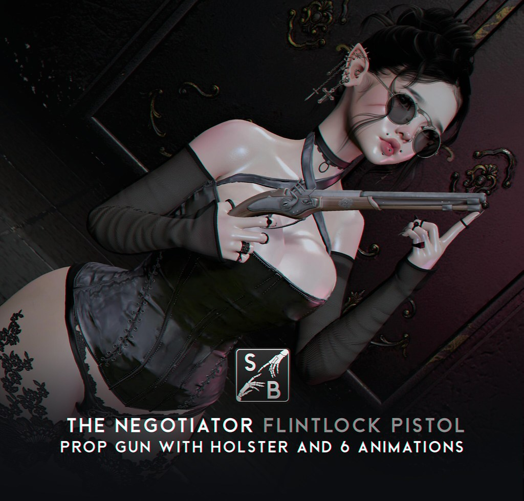 Skellybones – The Negotiator – Flintlock Pistol @ SaNaRae
