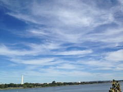 Washington Memorial from across the Potomac