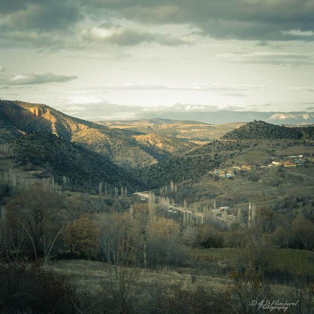 A fading light