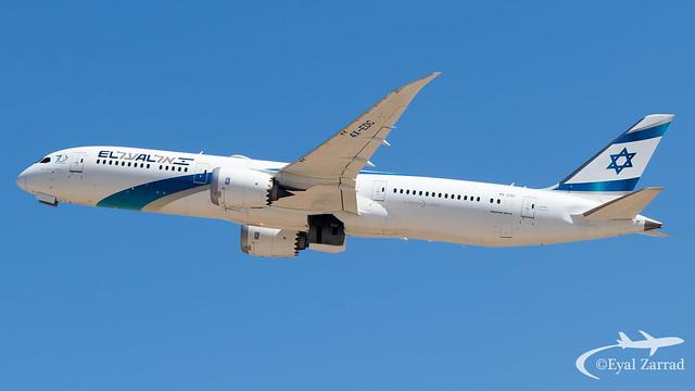 TLV - El Al Boeing 787-9 4X-EDC