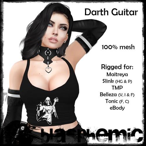 BLASPHEMIC Darth Guitar AD