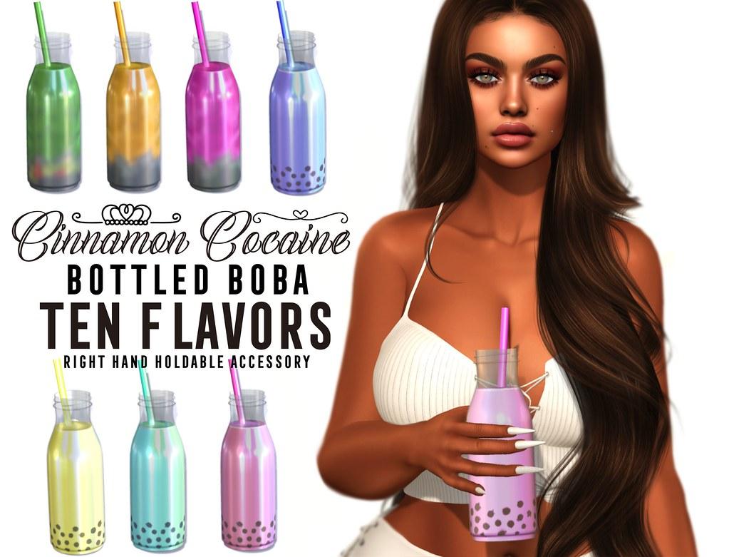 Bottled boba #ad