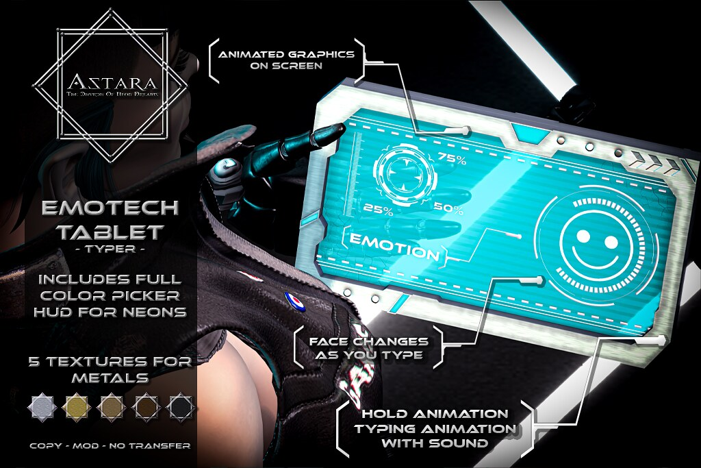 Astara – Emotech Tablet