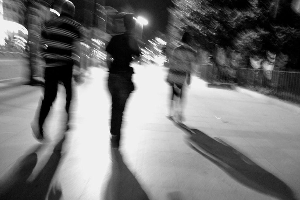 Following Shadows