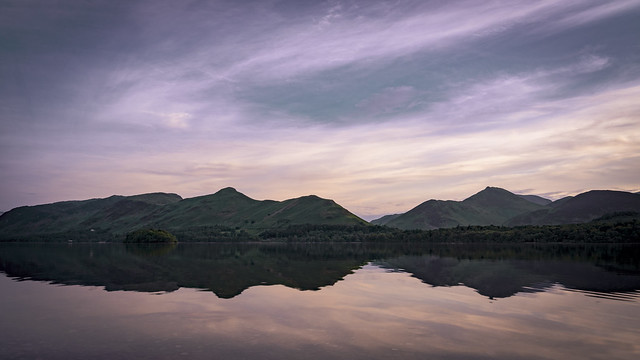 Sunset on Derwentwater