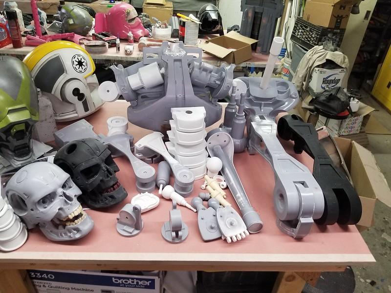 Endoskeleton Parts Batch One