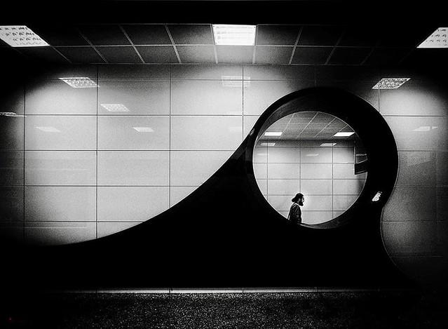 """ In Target "" by Mirela Momanu"