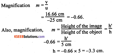 KSEEB Class 10 Science Important Questions Chapter 10 Light Reflection and Refraction img88