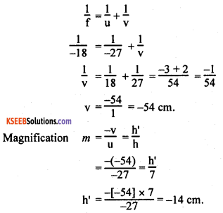 KSEEB Class 10 Science Important Questions Chapter 10 Light Reflection and Refraction img37