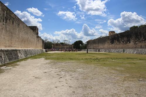 The Ball Courts, Chichen Itza, Mexico's Yucatán Peninsula