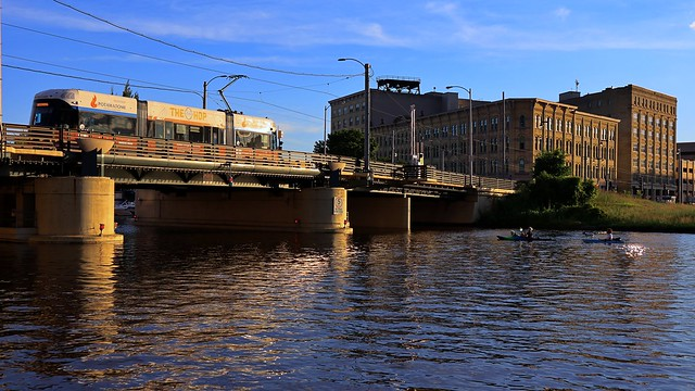 Hop over the Milwaukee River