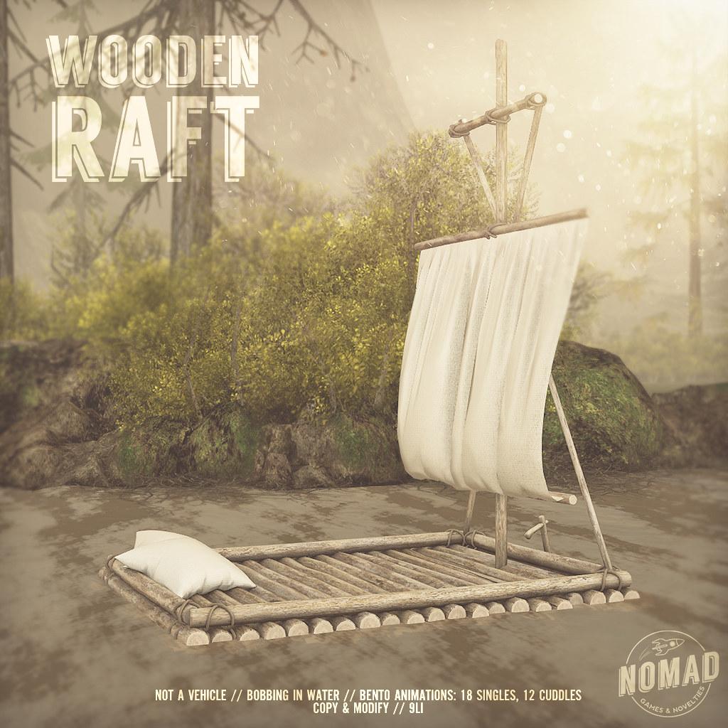 NOMAD // Wooden Raft @ FLF