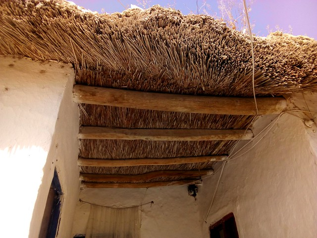 The thatched roofs that are so common in this part of Konya by bryandkeith on flickr