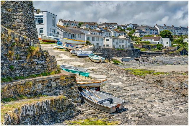 Slipway - Portscatho Harbour, Roseland, Cornwall.