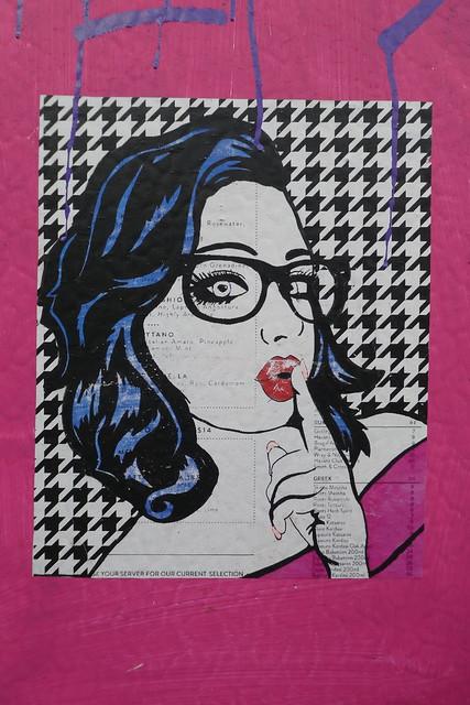 Jimzina street art, Shoreditch