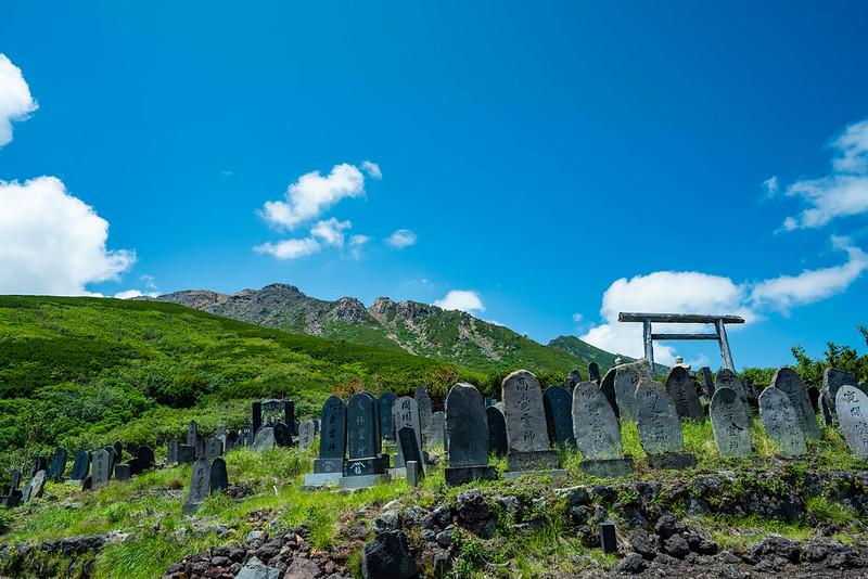 御嶽山 8月