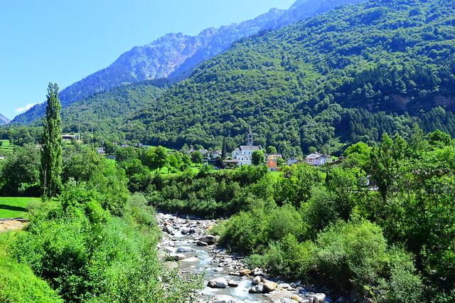 Aquila im Valle Blenio im Kanton Tessin