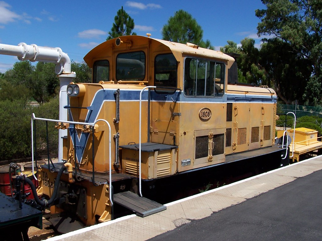 TA1808 Merredin Railway Museum 16 02 2006
