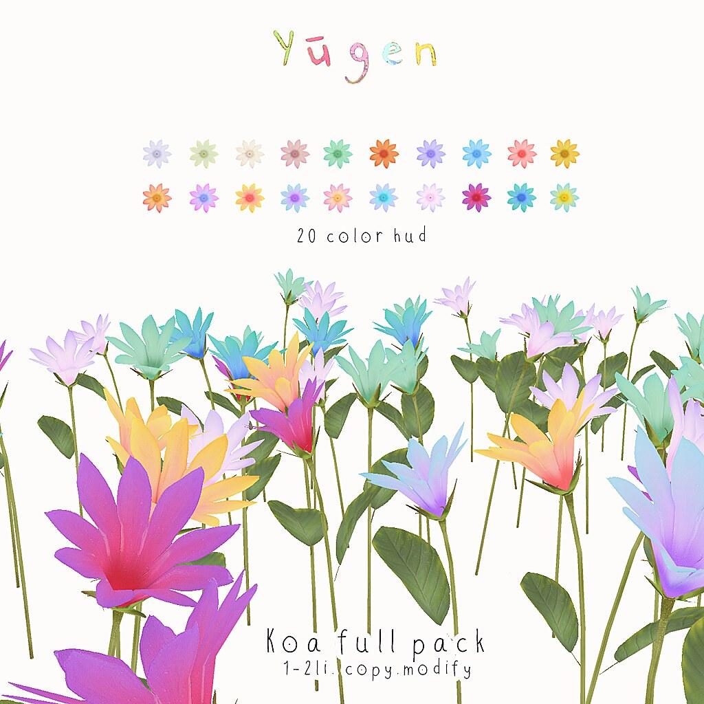 Yūgen.// kao flowers