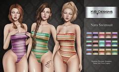 KiB Designs - Nara Swimsuit @Audacity Event