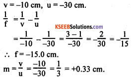 KSEEB Class 10 Science Important Questions Chapter 10 Light Reflection and Refraction img93